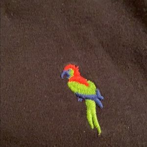 Hollister Tops - Hollister tank top with embroidered parrots